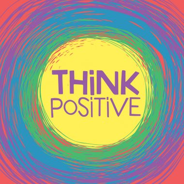 Think Positive card