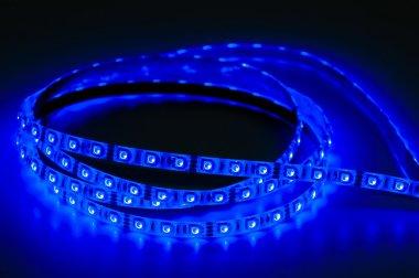 led strip lights: blue color