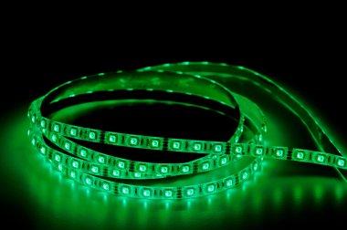 led strip lights, green color