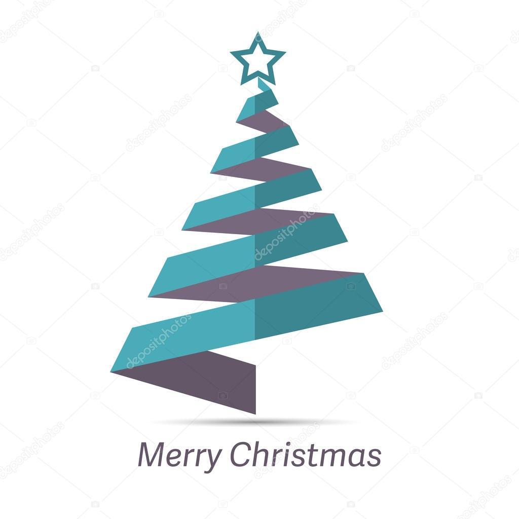 Immagini Stilizzate Di Natale.Illustrazione Stelle Natale Stilizzate Nastro Stilizzato