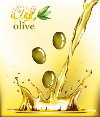 Golden Oil Drop