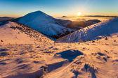 Fotografie Winter mountain landscape