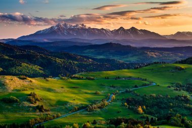 High Tatras moutain range