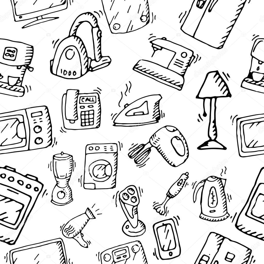 huishoudelijke apparaten en elektronische apparaten