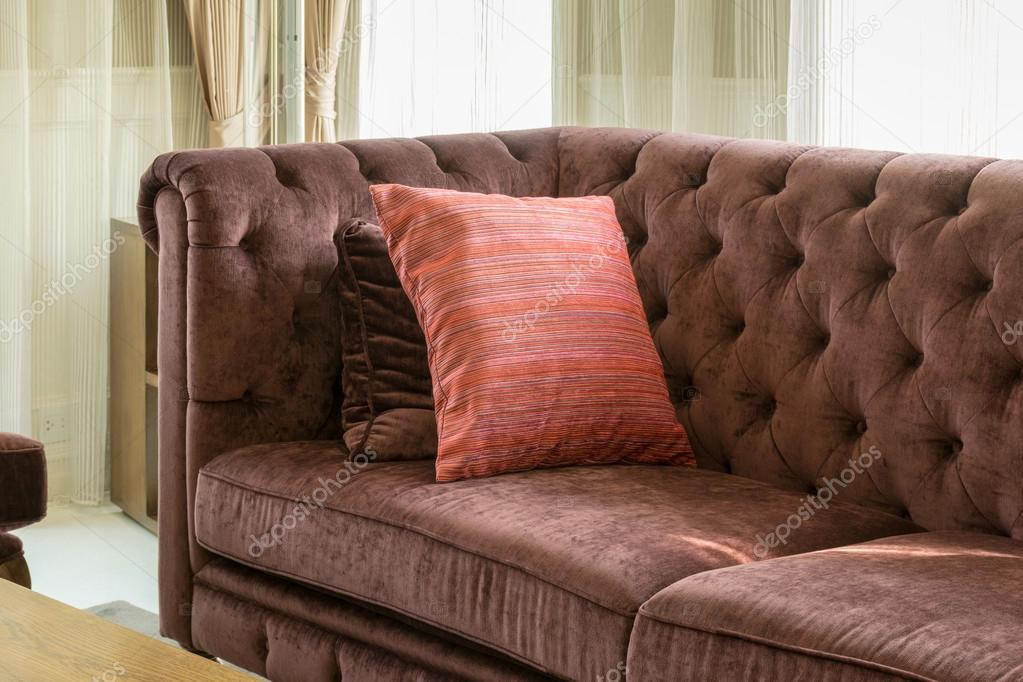 Pleasant Red Pillows On Red Sofa In Luxury Living Room Interior Alphanode Cool Chair Designs And Ideas Alphanodeonline