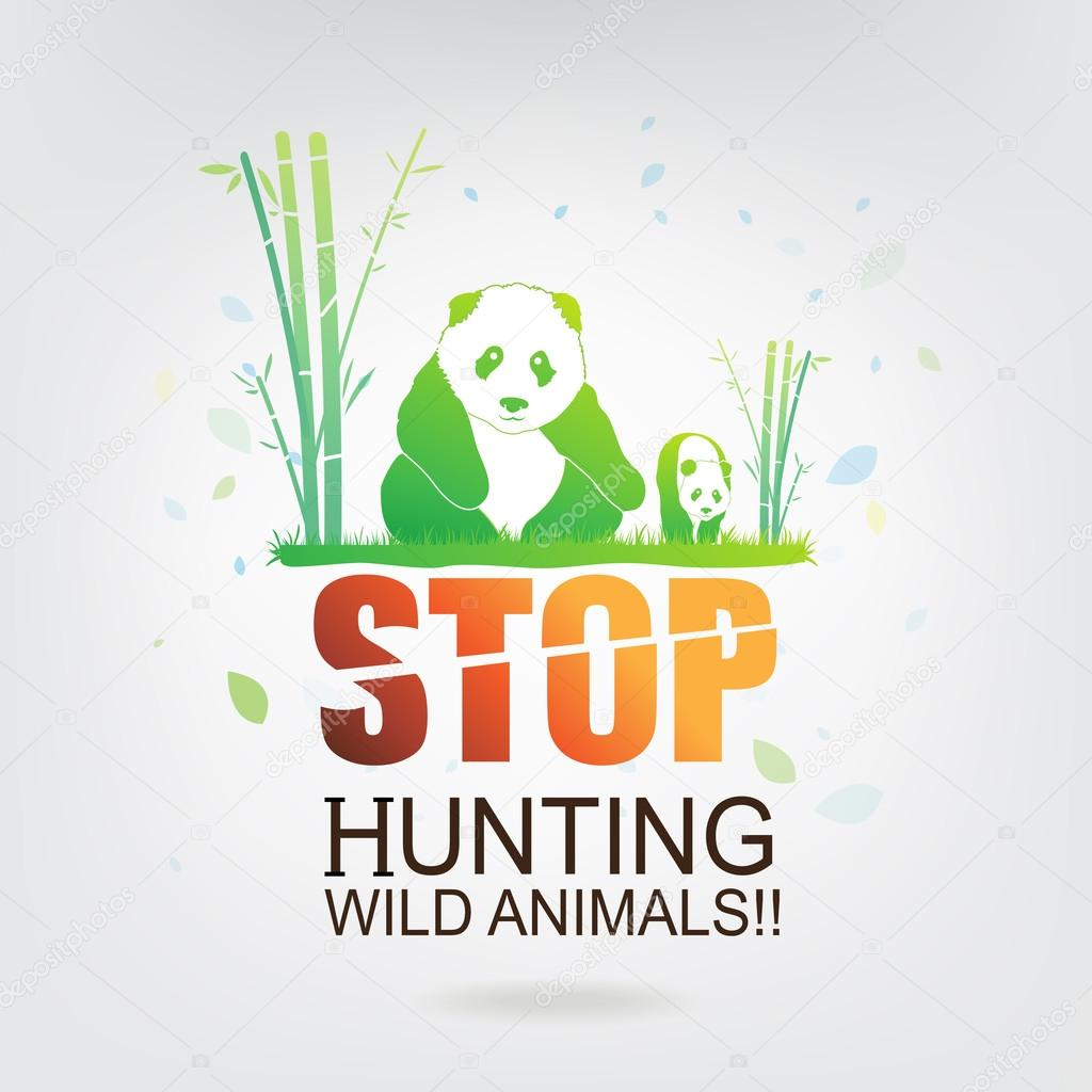 save the world stop hunting animals.