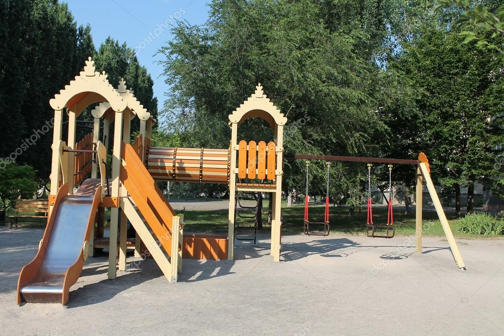 Juegos Infantiles Al Aire Libre Foto De Stock C Shwetsangela