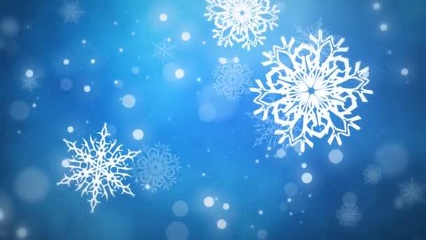 Karácsony pehely végtelenített kék