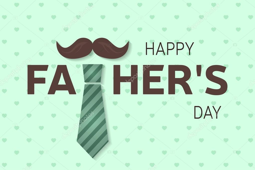 c3e63907d016 Carte de voeux bonne fête des pères. Affiche de la fête de pères heureux.
