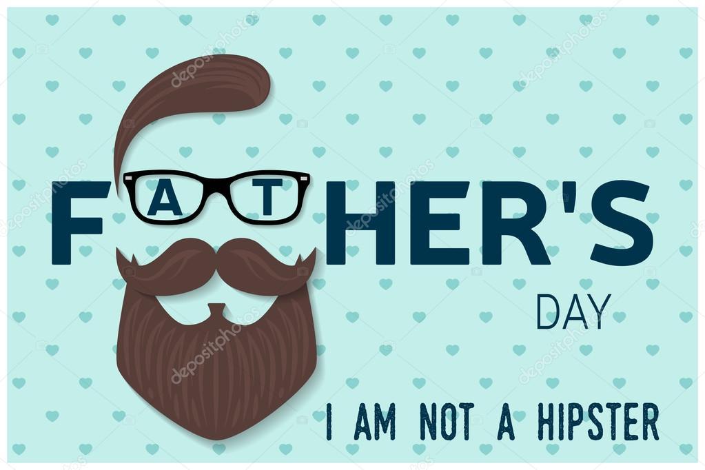 Muito Feliz dia dos pais-cartão. Feliz dia do pai cartaz. VEC — Vetores  RT93