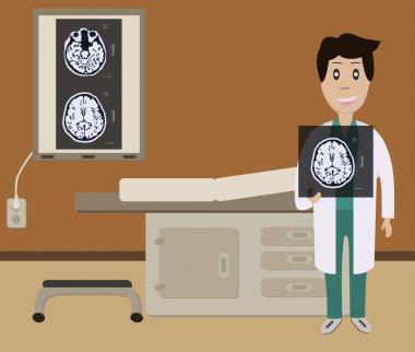 Diagnosis brain picture