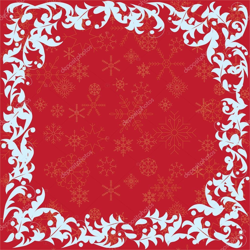 plantilla para tarjeta de Navidad — Vector de stock © Claudia_Nuage ...
