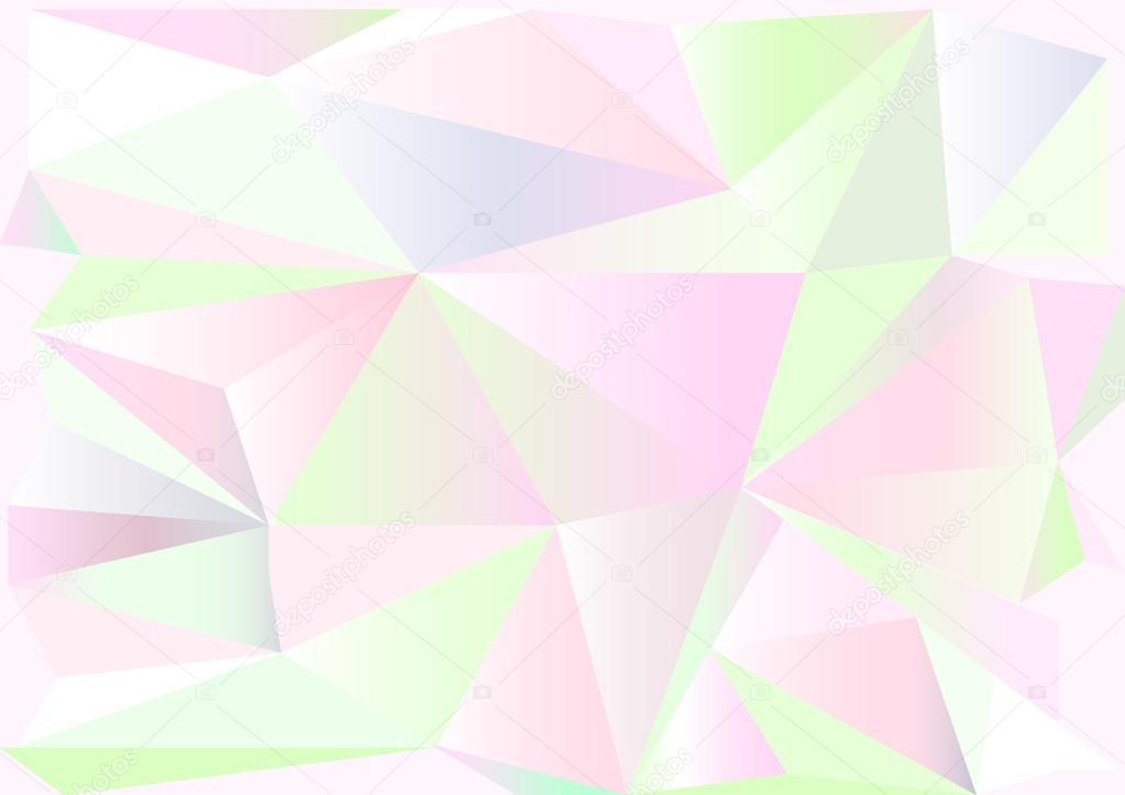 Fondo Pantalla De Colores Claros Bajo Poli Estilo Vector Diseño