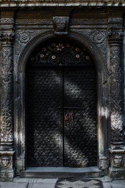 Old massive austrian doors of 19 century