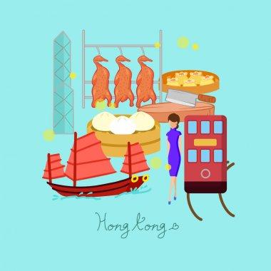 Hong Kong travel element