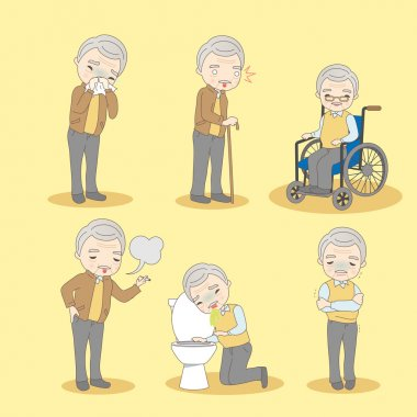 old man has different problem