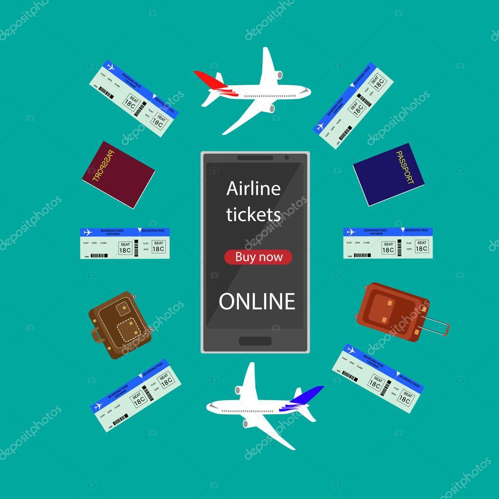 vliegtuig ticket boeken