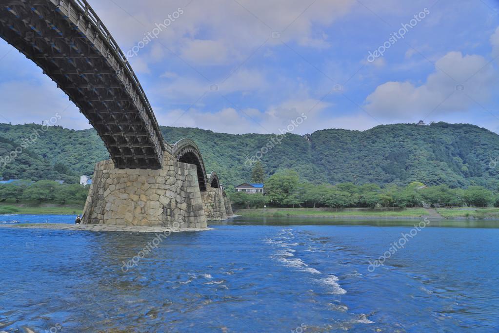 Kintai Bridge in Iwakuni, Yamaguchi