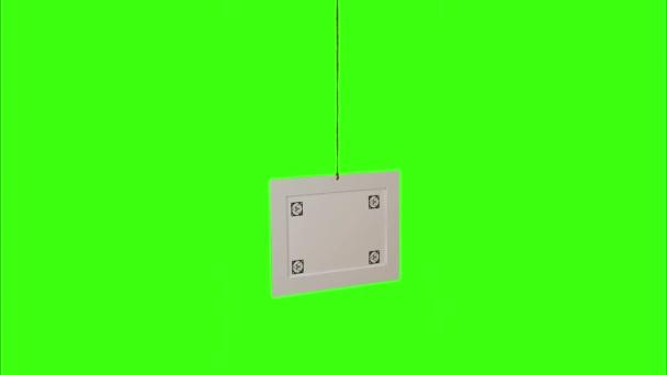 Horizontální fotorámeček s značky rohu Pin