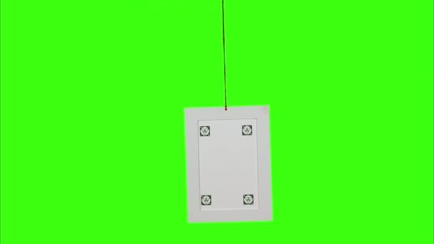 Zdůraznění obrázku – svislý rám s značky rohu Pin