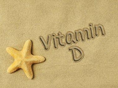 Vitamin D on sand