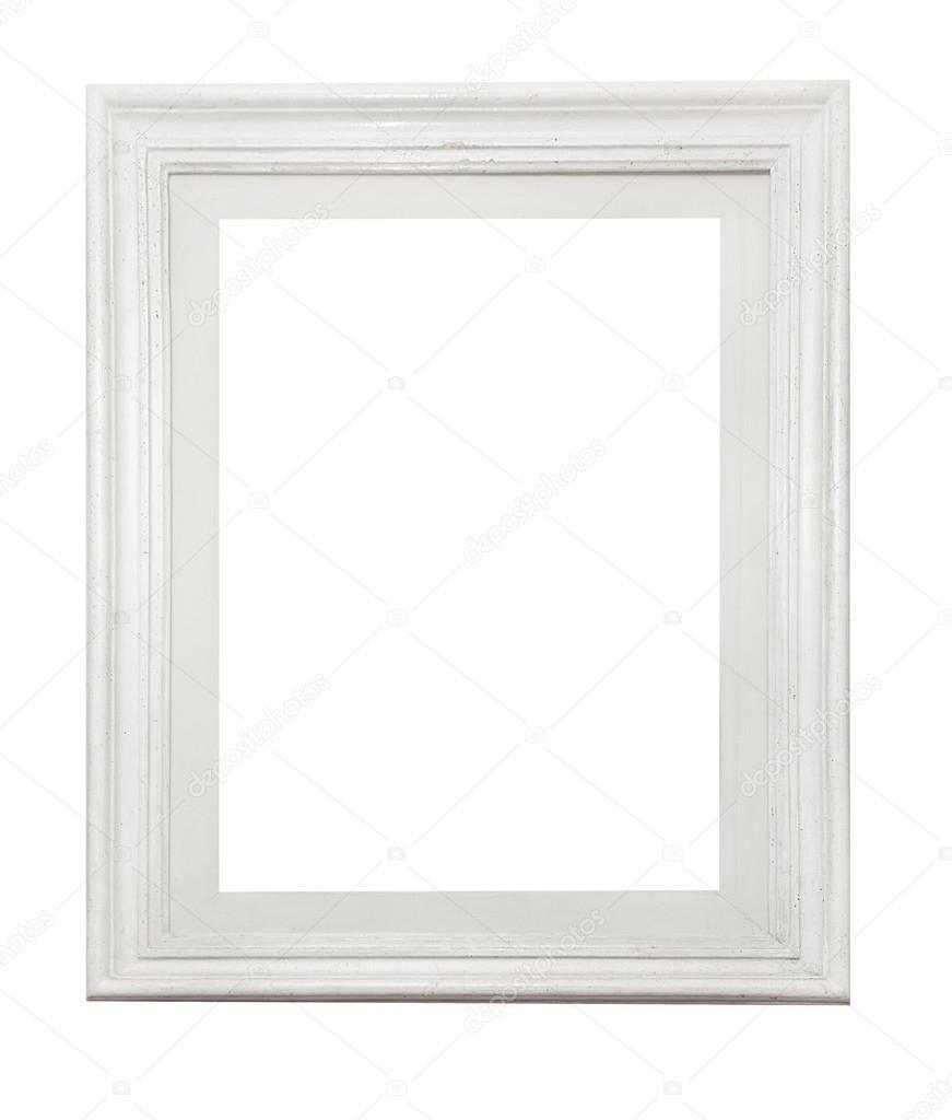 Marco blanco sobre blanco — Fotos de Stock © Goir #104469118