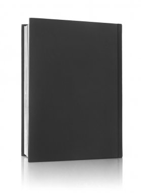 Book cover on white