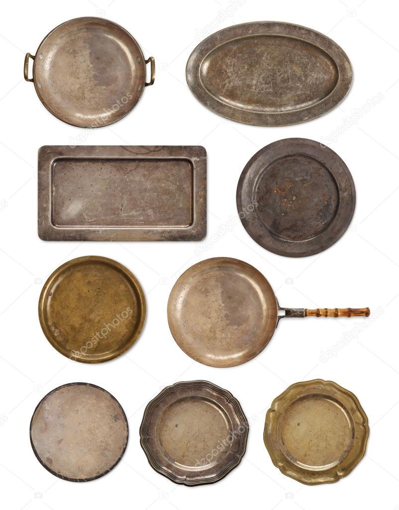 vecchi utensili da cucina — Foto Stock © Goir #108338556