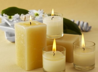 Candles and aromatherapy