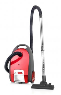 Vacuum cleaner isolated on white