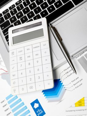 Financial review and calculator