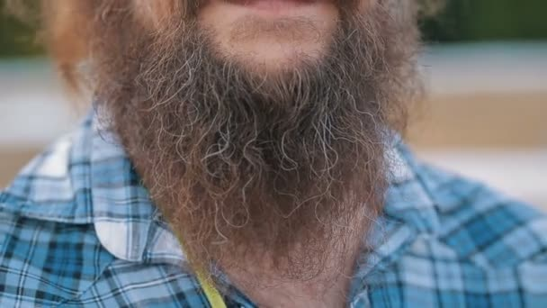 Long beard and mustache man