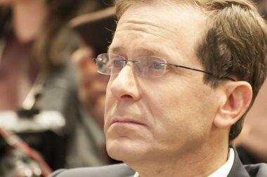 Israeli parliament opposition leader Isaac Itzhak