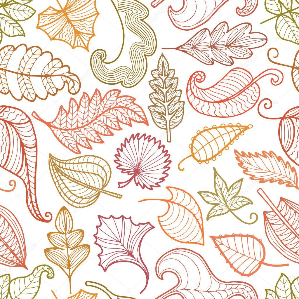 Patr n de hojas decorativas archivo im genes vectoriales - Fotos decorativas ...