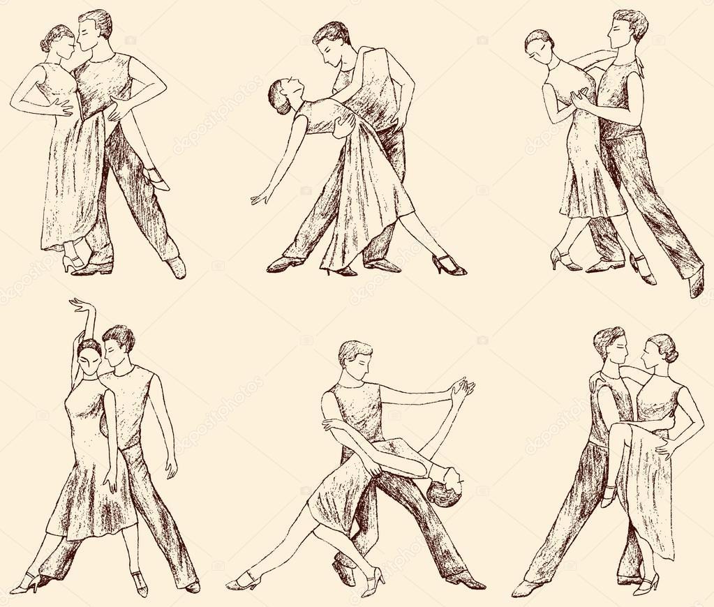 движения для медленного танца в картинках много было сделано