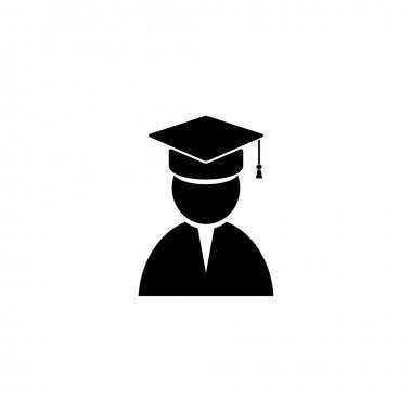 cap, student vector image