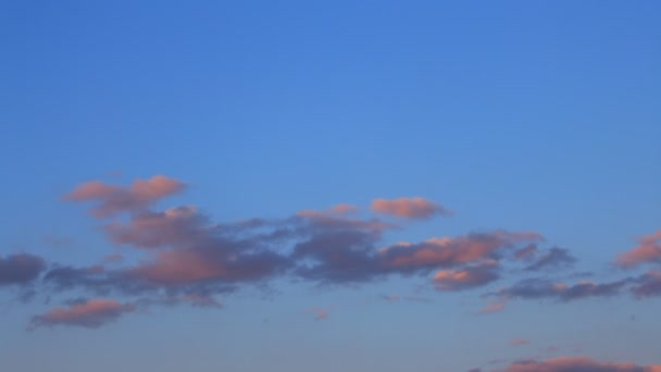 Timelapse of grey, white, blue clouds