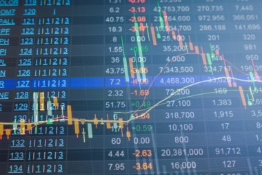 Stock market chart, Stock market data