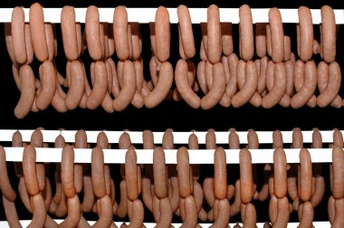 Fresh traditional sausages