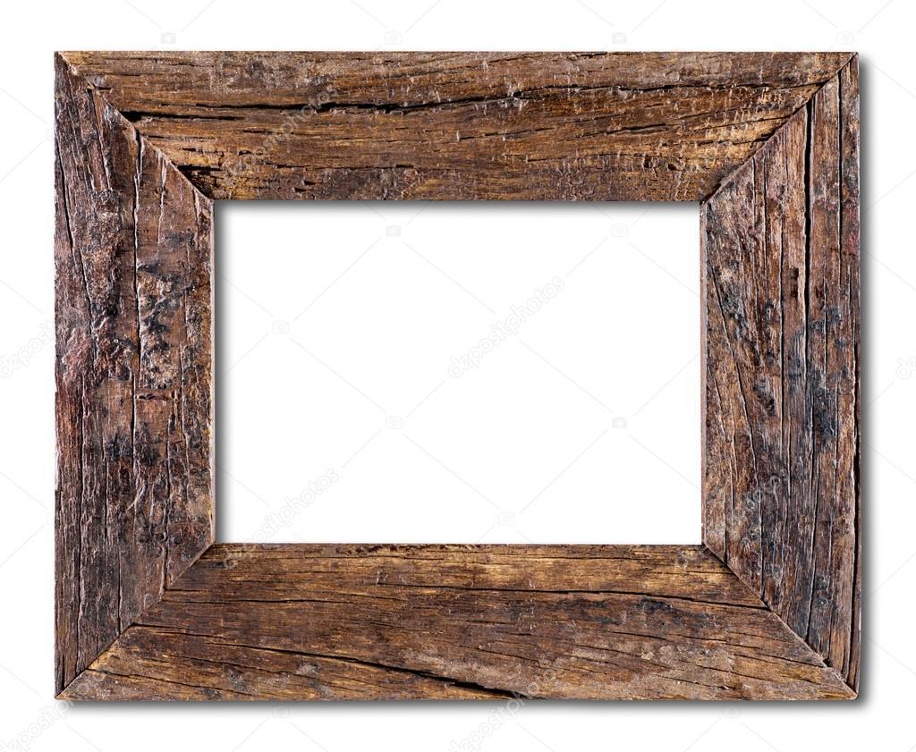 old wooden frame stock photo plasticrobot 90445870. Black Bedroom Furniture Sets. Home Design Ideas