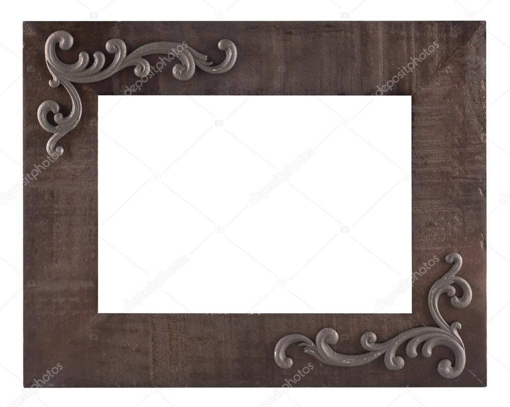 Alte rustikale Bilderrahmen aus Holz — Stockfoto © plasticrobot ...