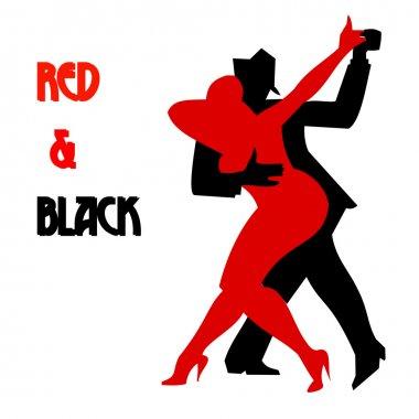 Dancing two people