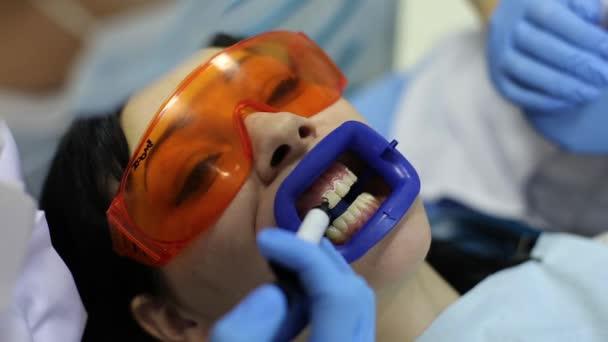 Teeth Whitening in Dental Office