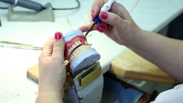 Manufacture Of Dentures in Dental Clinic