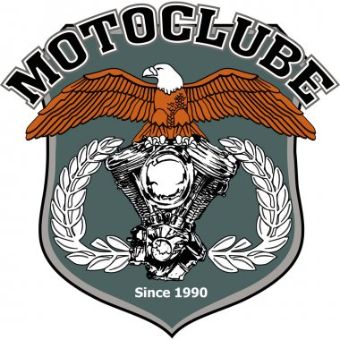Motorcycle biker racing vector design