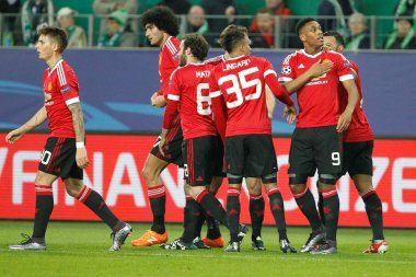 Goal Anthony Martial Manchester United