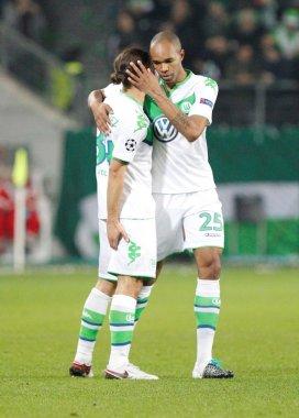 Naldo and Ricardo Rodriguez VfL Wolfsbourg