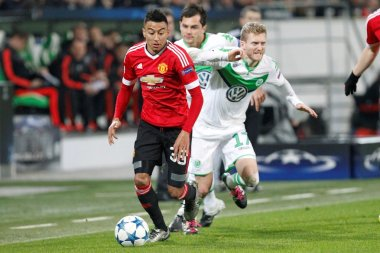 Jesse Lingard and Andre Schurrle