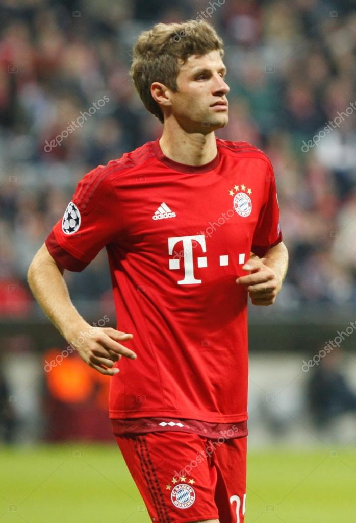 thomas muller bayern munich stock editorial photo laurent lairys