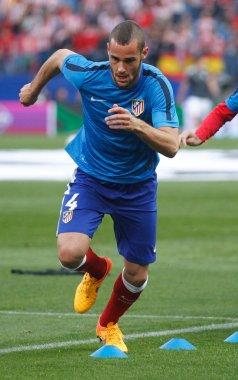 Mario Suarez Atletico Madrid